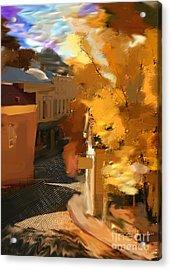 Nevada City In Fall Acrylic Print