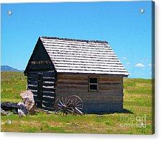 Nevada Homestead Acrylic Print