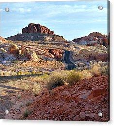 Nevada Rocks 1b Acrylic Print
