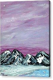 Nevada Sky Acrylic Print by Margie  Byrne
