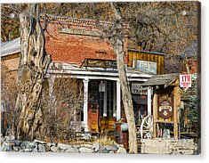Nevada Thirst Parlor Acrylic Print by Jens Peermann