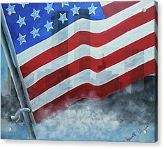 Never Forget 911 Acrylic Print
