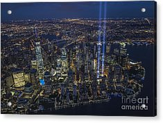 Never Forget-an Aerial Tribute Acrylic Print