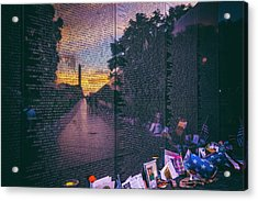 Acrylic Print featuring the photograph Never Forget by Edward Kreis