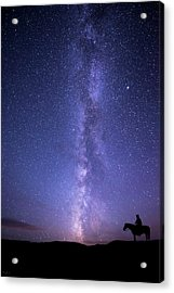 Never Stop Looking Up Acrylic Print