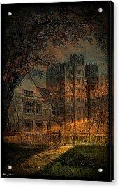 Nevermore Acrylic Print by Fran J Scott