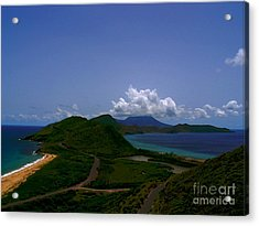 Acrylic Print featuring the photograph Nevis II by Louise Fahy