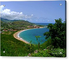 Acrylic Print featuring the photograph Nevis IIi by Louise Fahy