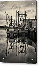 New Bedford Waterfront No. 1 Acrylic Print
