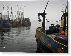 New Bedford Waterfront No. 2 Acrylic Print