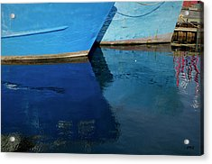 New Bedford Waterfront X Acrylic Print