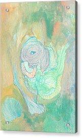 New Born - #ss18dw017 Acrylic Print by Satomi Sugimoto