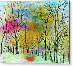 New Dawn New Day New Life Acrylic Print