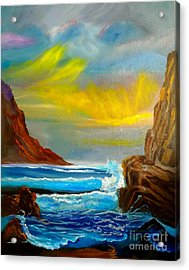 New Day In Paradise Acrylic Print