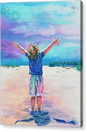 New Day Acrylic Print by Maureen Dean
