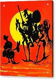 New Don Quixote Acrylic Print
