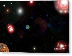 New Earth Acrylic Print