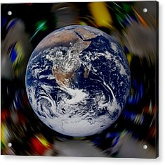New Earth Acrylic Print