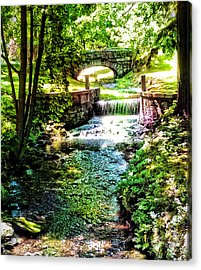 Acrylic Print featuring the photograph New England Serenity by Kathy Kelly