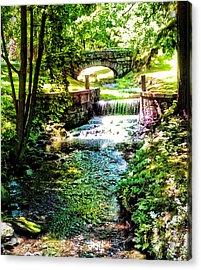 New England Serenity Acrylic Print