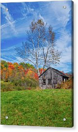 New England Fall Foliage Acrylic Print