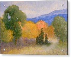 New England Fall Acrylic Print