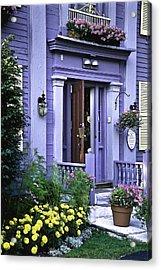 New England Inn Acrylic Print by Mark Coran