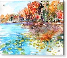 New England No.227 Acrylic Print by Sumiyo Toribe