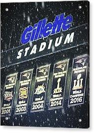 New England Patriots - Gillette Stadium Acrylic Print