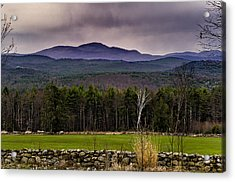 Acrylic Print featuring the photograph New England Spring In Oil by Mark Myhaver