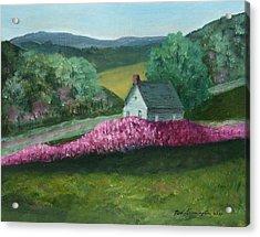 New England Spring Acrylic Print
