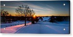 New England Sunrise Acrylic Print