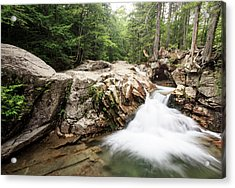 New England Waterfall Acrylic Print