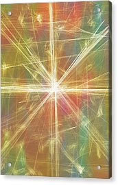 New Galaxy Acrylic Print