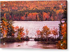 New Hampshire Fall Acrylic Print