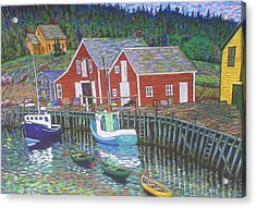 New Harbour  N.s. Acrylic Print