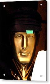 New Hat For Nigel Acrylic Print by Jez C Self