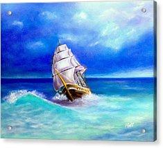 New Horizons Acrylic Print