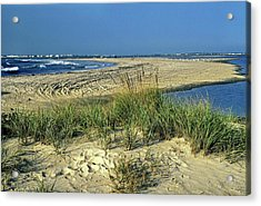 Acrylic Print featuring the photograph New Jersey Inlet  by Sally Weigand