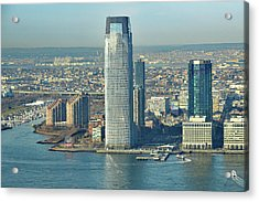 New Jersey Skyline Acrylic Print