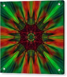 New Life Ablaze Acrylic Print