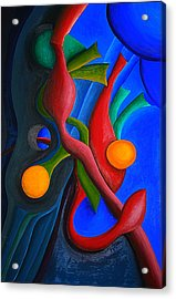 New Life Form Acrylic Print by Michael C Crane