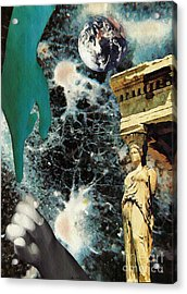 New Life In Ancient Time-space Acrylic Print