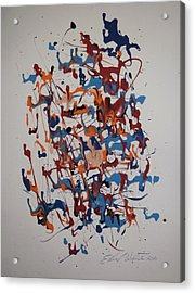 New Life In The Womb Acrylic Print by Edward Wolverton