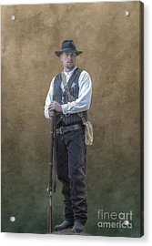 New Marshal In Town  Acrylic Print by Randy Steele