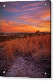 New Mexican Sunset Acrylic Print
