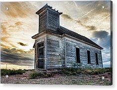 New Mexico Church #3 Acrylic Print