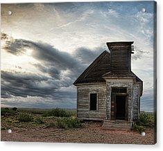 New Mexico Church Acrylic Print