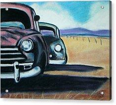 New Mexico Junkyard Acrylic Print