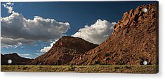 New Mexico Landscape Acrylic Print by Steve Gadomski